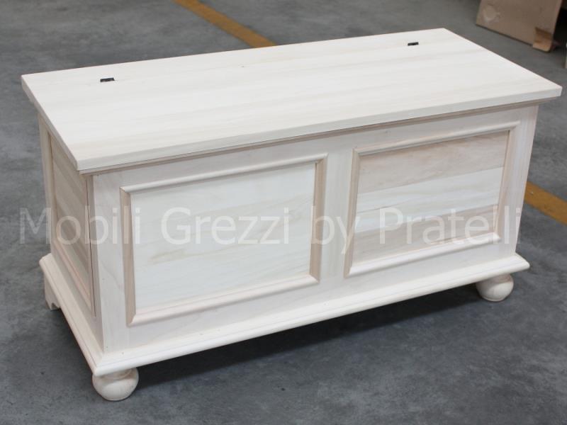 Cassapanca Grezza