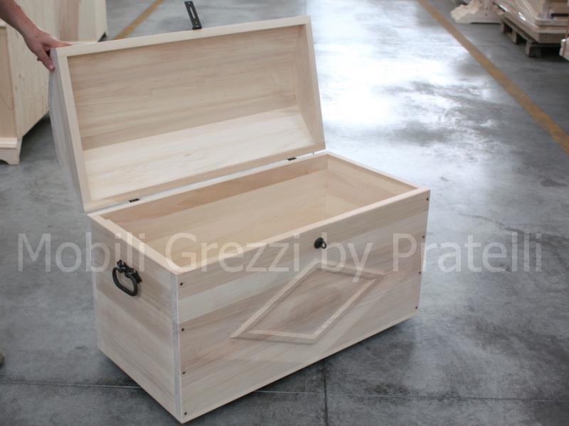 Baule di legno idee di design per la casa for Cassapanche di legno
