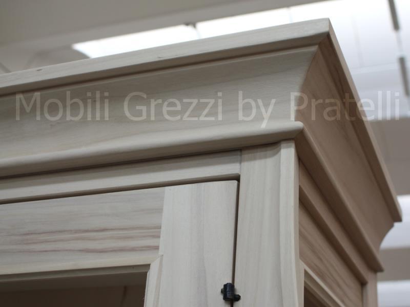 Vetrine grezze vetrine grezze 2 ante fino a 130 cm - Cornici per mobili ...