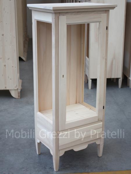 Vetrinetta in legno da dipingere