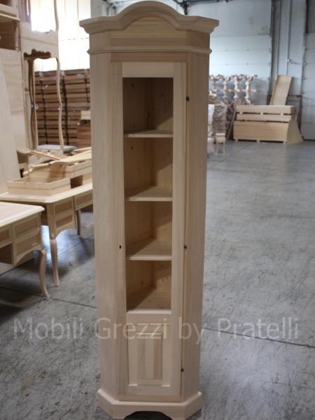 Angoliere grezze angoliera grezza alta 36x36 for Cassapanche piccole legno