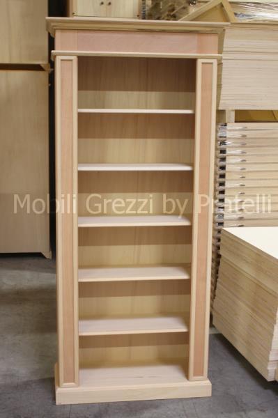 Emejing librerie in legno photos for Librerie modulari economiche