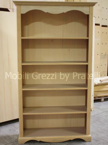 Librerie grezze libreria grezza provenzale for Cassapanche economiche