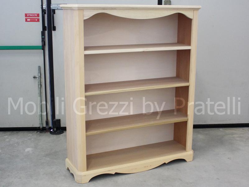 Librerie Grezze , Libreria Country Grezza Bassa