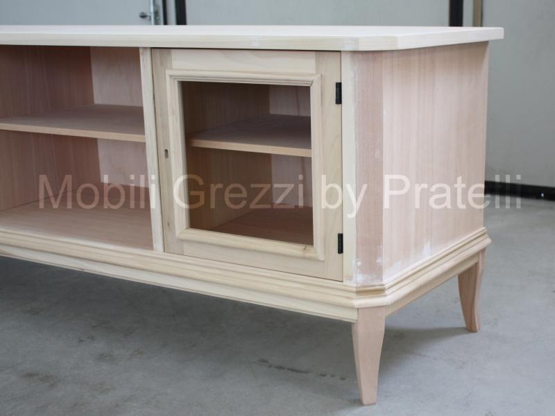 Mobili porta tv grezzi mobile porta tv country grezzo for Mobile porta tv legno grezzo