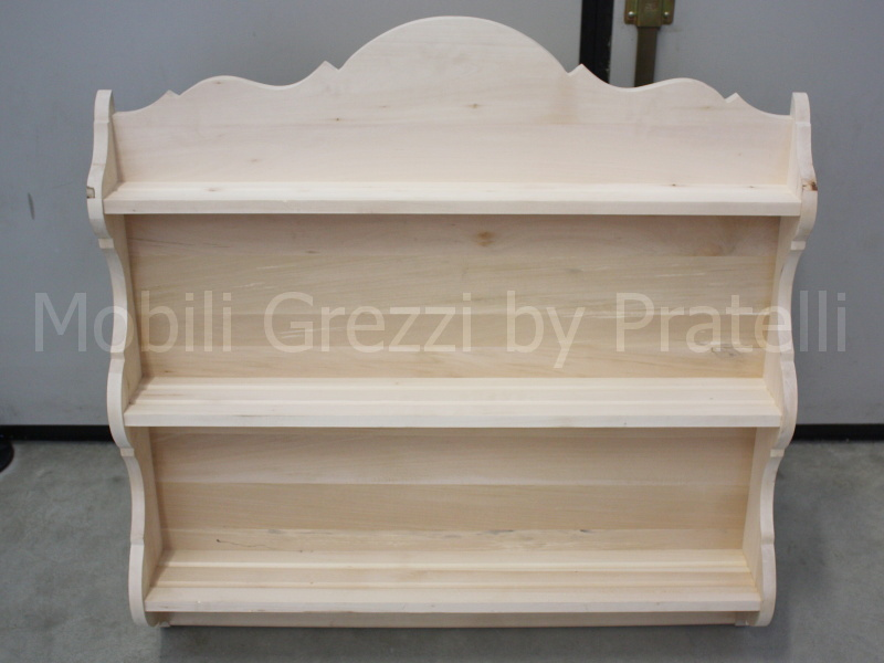 Legno Grezzo Chiaro : Piattaie in legno grezzo piattaia in legno grezzo sagomato
