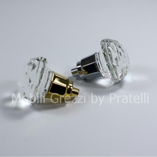 Pomelli per tutti i mobili sia in oro che in argento