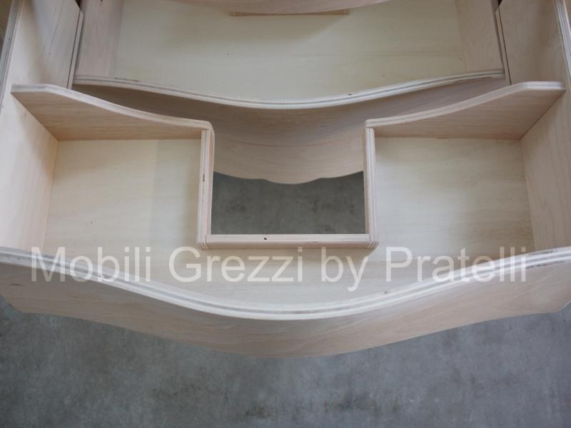 Picture idea 35 : Mobili bagno grezzi barocco bombato grezzo