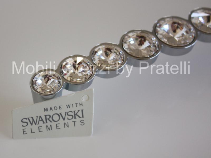 Maniglie e pomelli maniglie con swarovski linea luxury maniglia con swarovski art 16 - Pomelli per mobili cucina ...