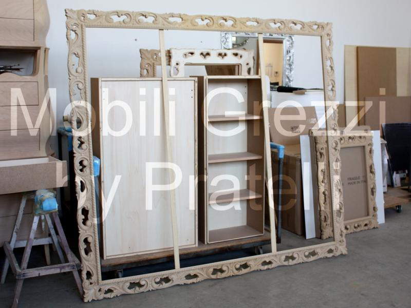 Specchiere e cornici grezze cornice barocca grezza - Cornici per mobili ...