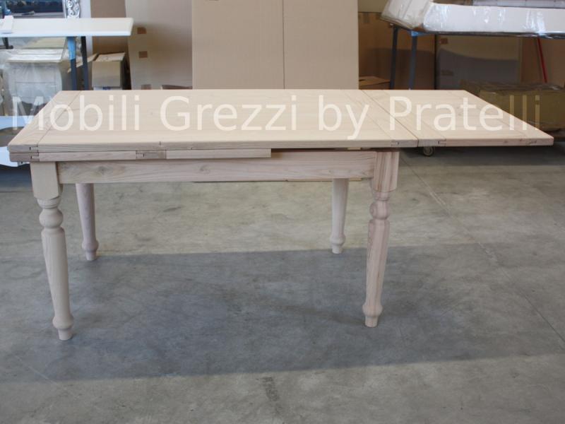 Tavolo con assi di legno awesome tavolo con piano in legno massello karpenter with tavolo con - Tavolo legno grezzo prezzo ...