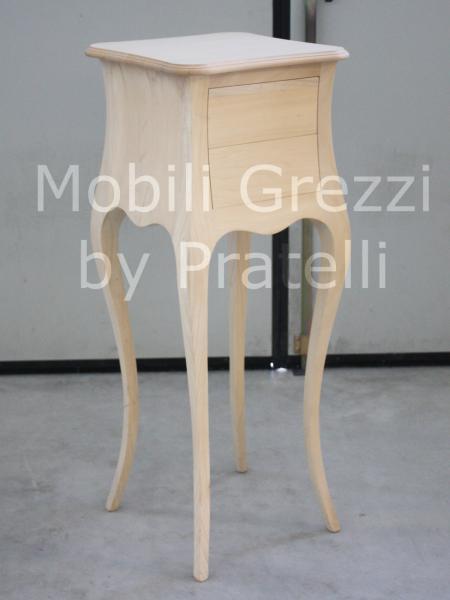 Mobiletto Grezzo Bombato