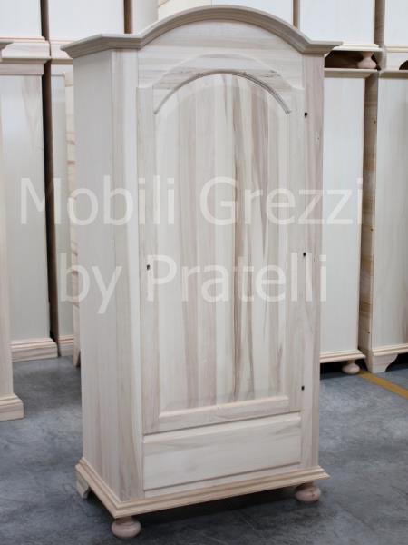 armadio in abete grezzo ante in legno grezzo con armadi