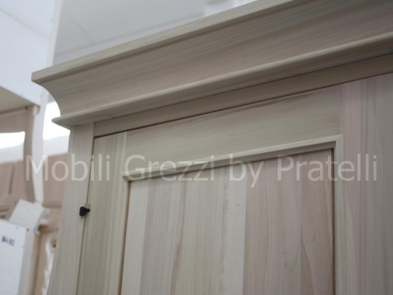 Armadi grezziarmadi grezzi 3 ante armadio 3 ante grezzo for Armadio legno grezzo
