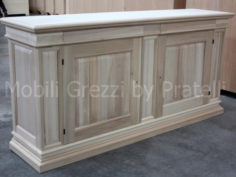 Credenza In Legno Grezzo Credenza In Legno Grezza Pictures to pin on ...